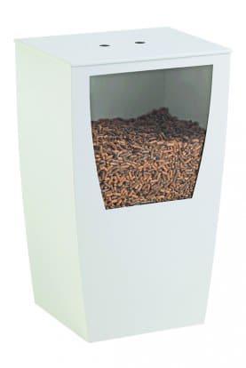meuble de stockage et réserve granulés